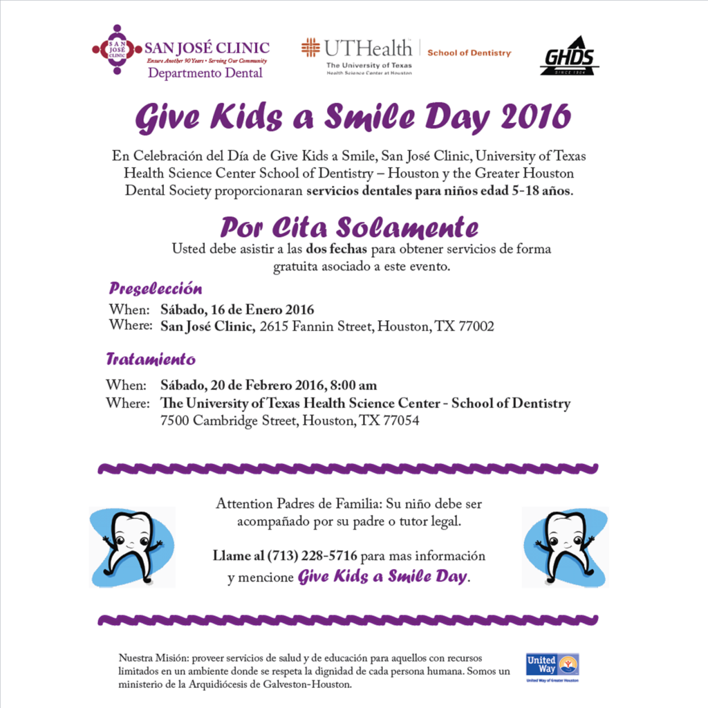 give kids a smile promo