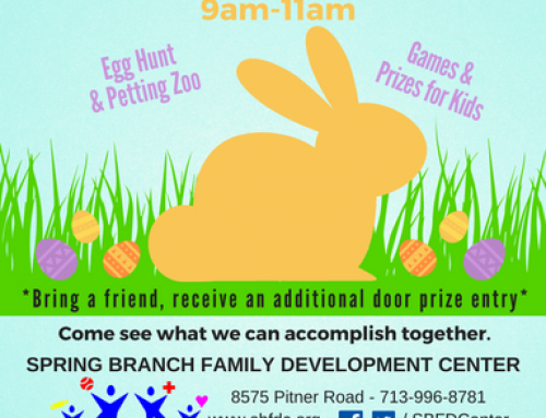 UPCOMING FAMILY EVENT & VOLUNTEER OPPORTUNITY: Spring Fiesta on Saturday, March 24, from 9am-11am