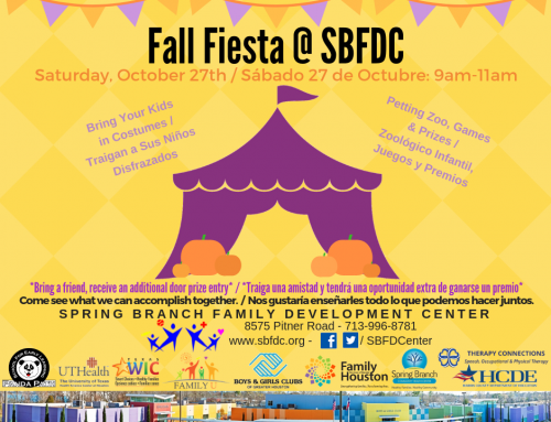 Fall Fiesta – October 27: Volunteer Opportunity!