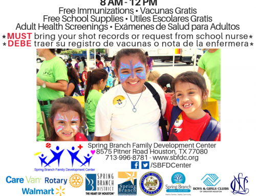 Back-to-School Health Fair: Saturday, August 10, 2019