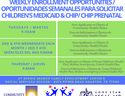 Children's Medicaid, CHIP & CHIP Prenatal Enrollment Opportunities