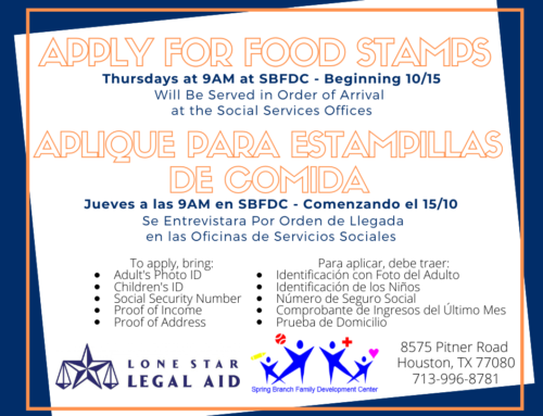 Food Stamp Enrollment Opportunities with Lone Star Legal Aid
